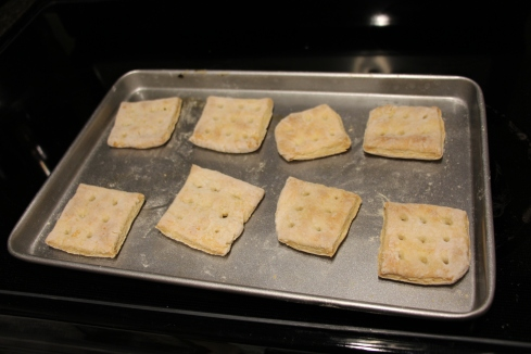 Baked hardtack